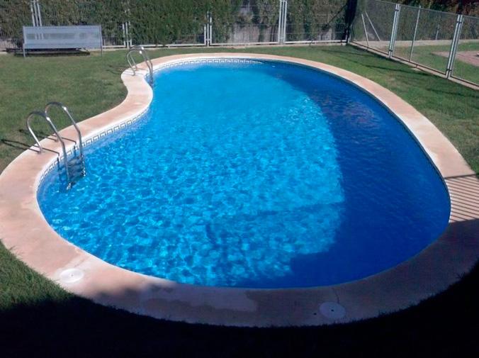 ¿Cómo es una piscina gunitada?